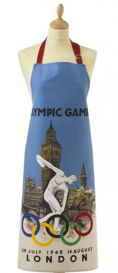 LONDON 1948 OLYMPIC GAMES APRON