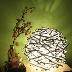 How to make this pretty lampshade.