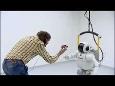 ASIMO the Robot is gaining new artificial intelligence. (ASIMO is learning!) 2009