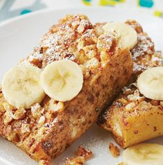 Hosting brunch? Serve Brie-Stuffed Banana French Toast. Your friends will be totally impressed and only you will know how easy it was to prepare.