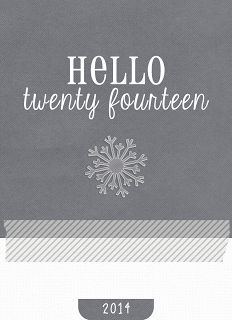 Free Hello 2014 Journal Card for Project Life