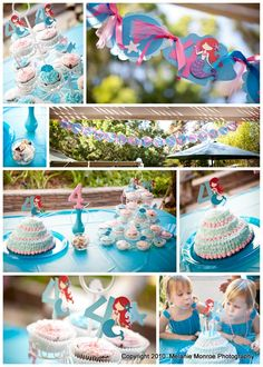 Love this mermaid party.
