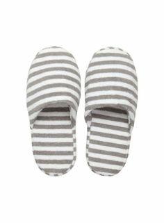 Ujo slippers (white, grey) |Décor, Bathroom, Robes & Slippers | Marimekko