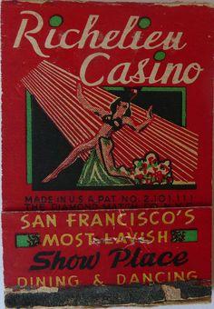 RICHELIEU CASINO SAN FRANCISCO CALIF