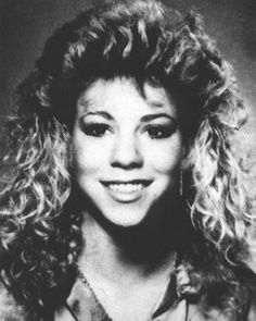 In high school, Mariahs nickname was Mirage because she often cut class.