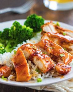 Caramel Chicken - This chicken recipe only requires one skillet and the sauce is a delicious caramel teriyaki glaze.