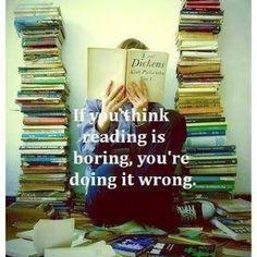 Reading is boring??