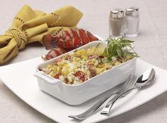 Holland America Lobster Mac and Cheese recipe.