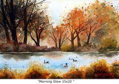 Morning Glow 15x22