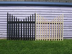 """My $1.20 Graveyard Fence - halloween yard decor on the cheap!"""