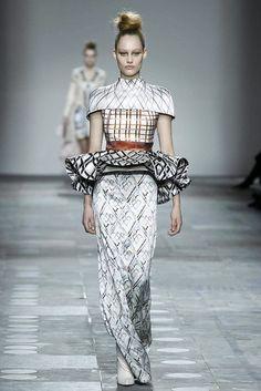 Mary Katrantzou Fall/Winter 2012 collection.