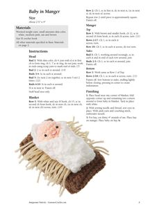 Amigurumi Nativity - Tutorial ❥ 4U // hf