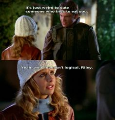 Buffy would know.