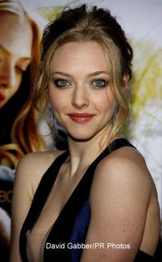 wavy hair, the face, amanda seyfried