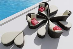 Contemporary luxury outdoor furniture design and ideas