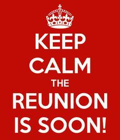 The High School Reunion is soon!