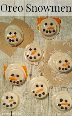 oreo snowmen #tickle