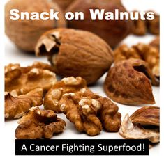 An ounce of walnuts a day can  help fight breast and prostate cancer