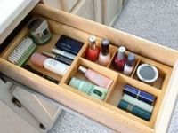 Drawer organizers can make a huge difference when organizing your bathroom drawers! {featured on Home Storage Solutions 101}
