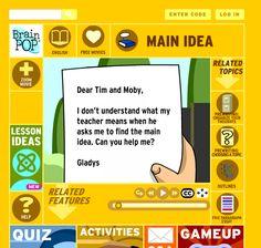 Main Idea Activities...Fourth Grade!