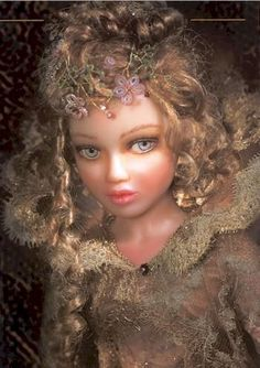 Mundia porcelaine doll Natassia.  Beautiful doll!!