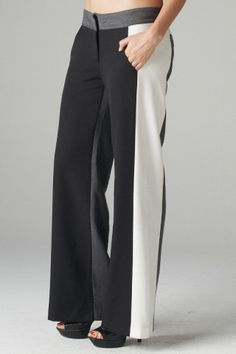Lengthening Colorblock Pantsn from Tailor & Stylist. These look like they could fit me really well! I hate pants shopping but I have been really wanting a pair in this style!  $45.00