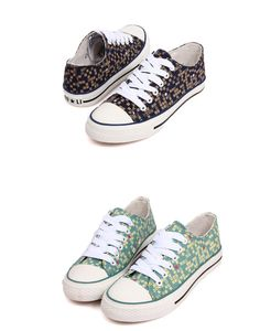 Cool sneakers plaid flat cloth knot girls shoes XD-JD605-Lovelyshoes.net