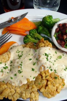 The Best Chicken Fried Steak - This is by far the best chicken fried steak I've ever had!