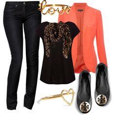 Orange and Leopard :)