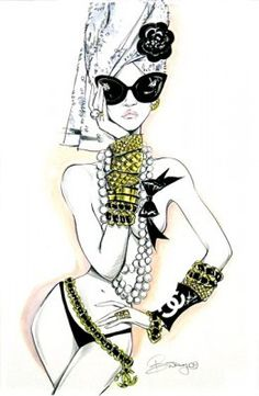 Chanel illustrations