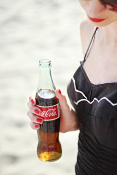 Cold Coke on a hot day