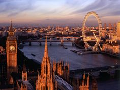 London, England - one of my favorite places on Earth. Cannot wait to go back.