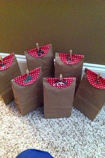 Duck Dynasty gift bags