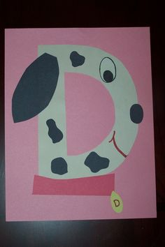 D is for Dog preschool craft