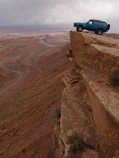 Living on the edge #xj # jeep #cherokee