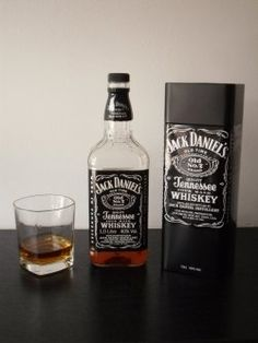 Whisky Jack Daniels is in my opinion one of the best whiskeys in the world. It is known by square bottles and black label with white writing....