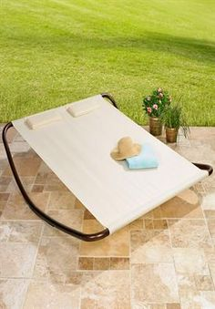Tanning Lounger | Patio Furniture | Brylanehome