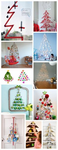 I love the baby foot print Christmas tree...