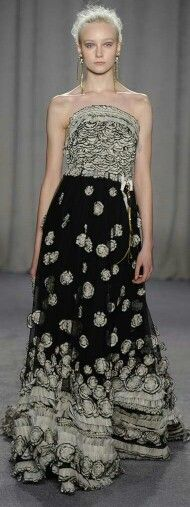 marchesa fall 2014 ready-to-wear collection.