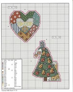 murzilka1019 - «78 xmas ornaments charts 71-72.jpg» on Yandex