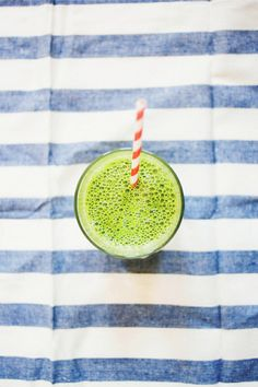 A glass of green juice a day keeps the doctor away!