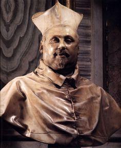 Bust of Cardinal Scipione Borghese - Gian Lorenzo Bernini