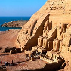 Fancy - Abu Simbel Temples @ Egypt bucket list, abu simbel, ancient egypt, visit, travel, africa, place, destin, simbel templ