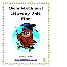 lots of owl ideas...  @Brooke Pratt Look at the last four pages or so of this packet, we could use this for their owl writing this week?