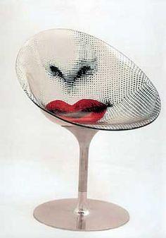 Fornasetti & Philippe Starck Chair