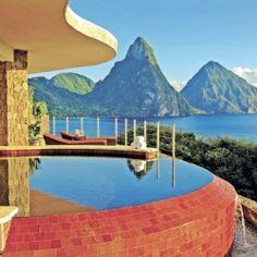 St. Lucia luxury resort