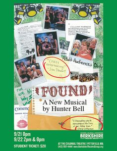 Ticket Giveaway: Parents' Night Out to See FOUND at The Colonial Theatre