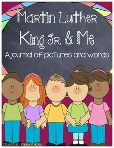 Martin Luther King Jr Day Writing Journal Activity