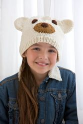 Polar Bear Hat | Free pattern