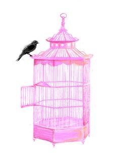 PRETTY smart BIRD Art Print